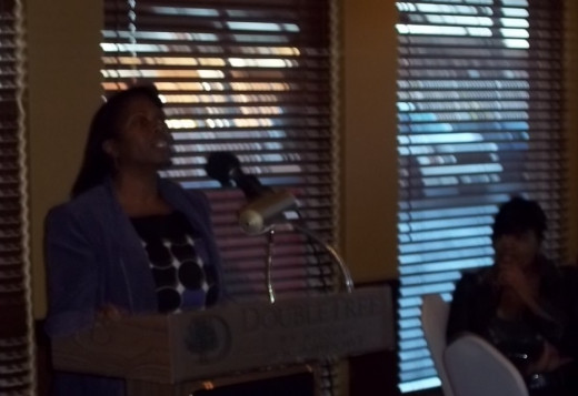 "Sharing ""It's Praying Time"" poem for Prayer Luncheon at Double Tree Hotel 11/17/12"