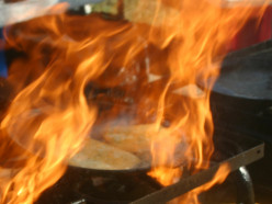 Delicious Saganaki: It's Cheese, It's Greek, and It's on Fire!