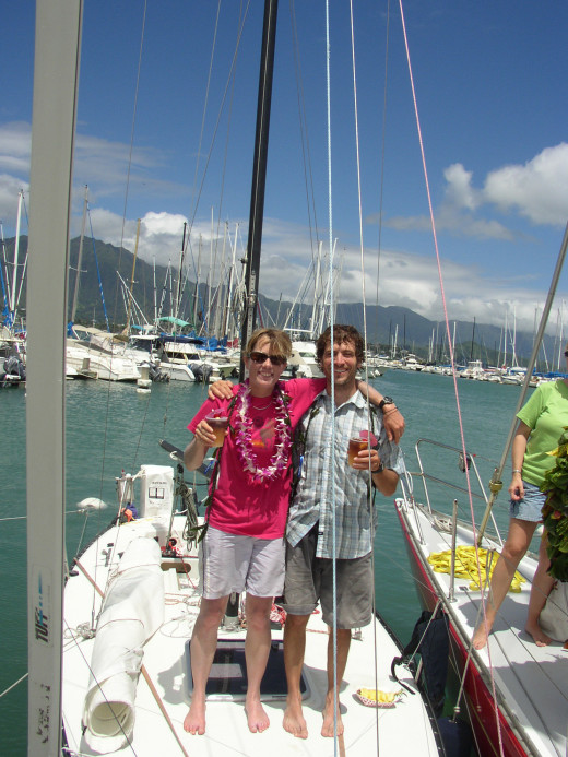 Sarah & Andy Finish 1st in Class Double-handed Pacific Cup Race from San Francisco to Hawaii