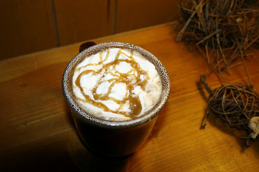 How to Make A Starbucks Salted Caramel Hot Chocolate
