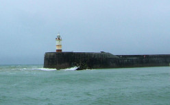 West Pier and Lighthouse, Newhaven