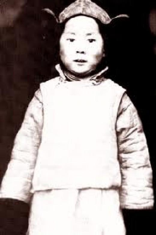 The child Dalai lama