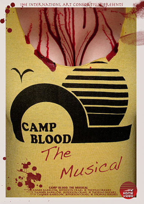 Poster art for Camp Blood: The Musical.