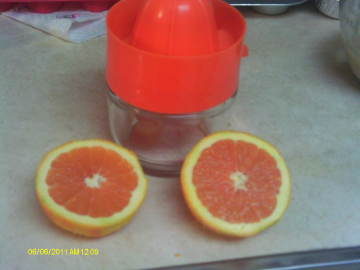 I like to use fresh orange juice whenever possible