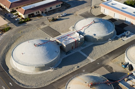 Anaerobic digesters in the City of Bakersfield