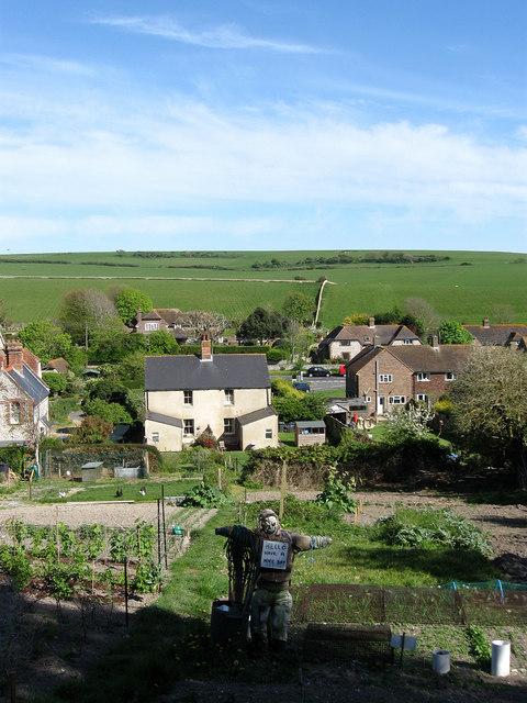 An English Vegetable Garden