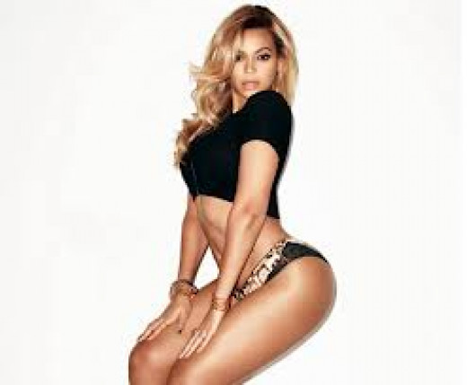 Beyonce known for her curves