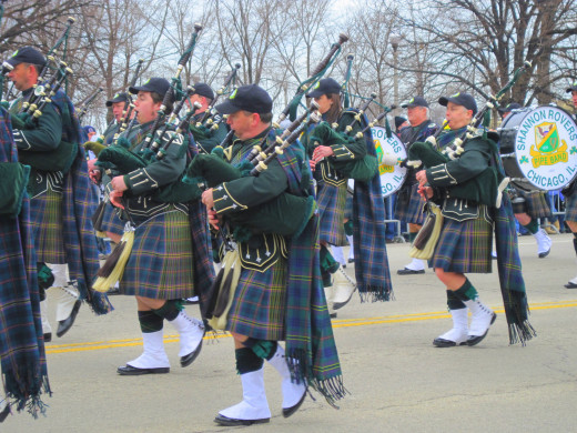Shannon Rovers Pipe Band - Chicago, IL