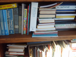 More cookbooks, arranged per my inventory