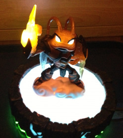 What are Lightcore Skylanders Giants?