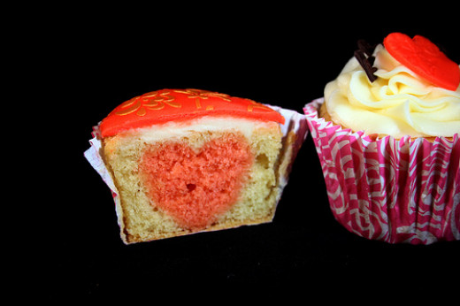 Cake-escape: Inside the valentines cakes