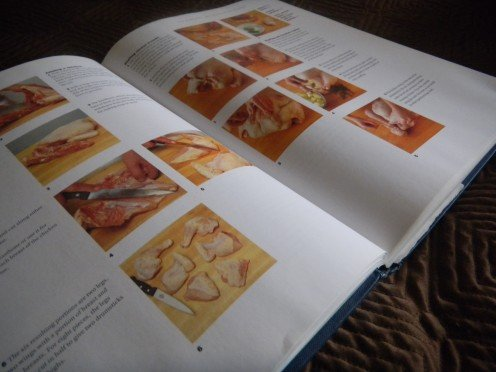 The Conran cook book, has great instructive photos followd by a selection of delightful recipes.