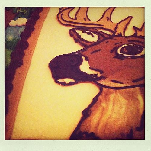 Deer Groom Cake