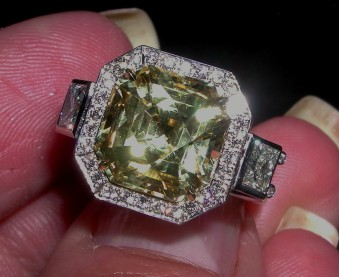A Sam Lehr Original Diamond Ring