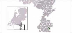 Map location of Simpelveld, Limburg province, The Netherlands