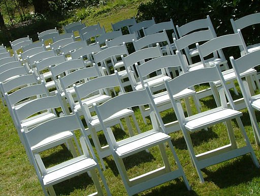 Outdoor Wedding Chairs