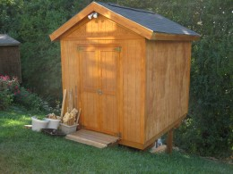Build a Storage Shed on a Hill