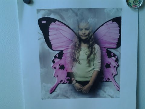 This is a pic of my granddaughter, which she printed out.