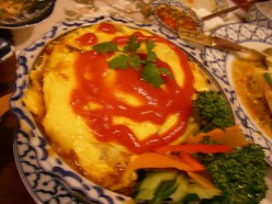 Easy Thai omelet recipe. A delicious 2 minute Thai recipe!