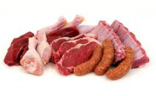 8-10 of the essential amino acids that we need are found in meat.