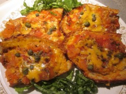 Tomatoes and Cheddar Cheese Treat