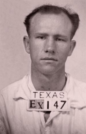 Raymond Hamilton mugshot
