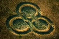 CROP CIRCLES AT Edmonton, Alberta, Canada