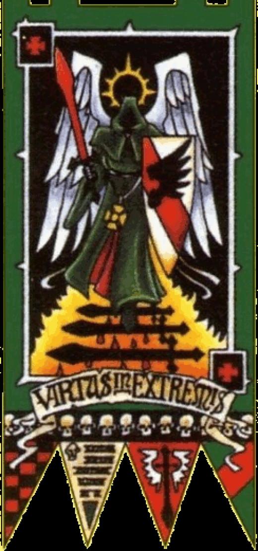 Dark Angels Standard of Fortitude