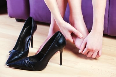 wearing high heels come with a price to our feet unfortunately.