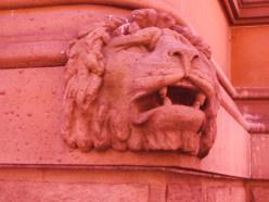 The BRITISH LIONS, Town Hall, Sydney are a reminder of the British Empire in Better times.