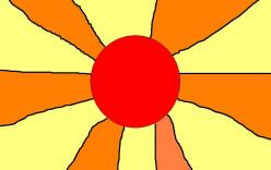 The Symbol of the Rising Sun.