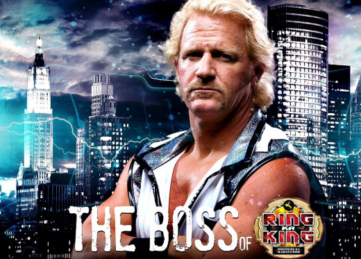 Jeff Jarrett-Ring Ka King-TNA Impact Wrestling in India