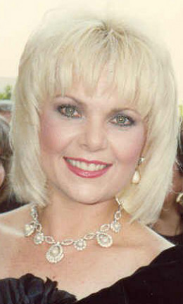 Ann Jillian, former child star, Broadway star in the 1970s, and 1980s television star and cancer survivor.  The smart and nononsense blonde.