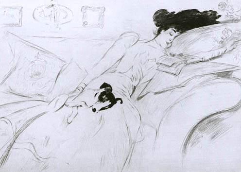 Consuelo Vanderbilt by Paul César Helleu
