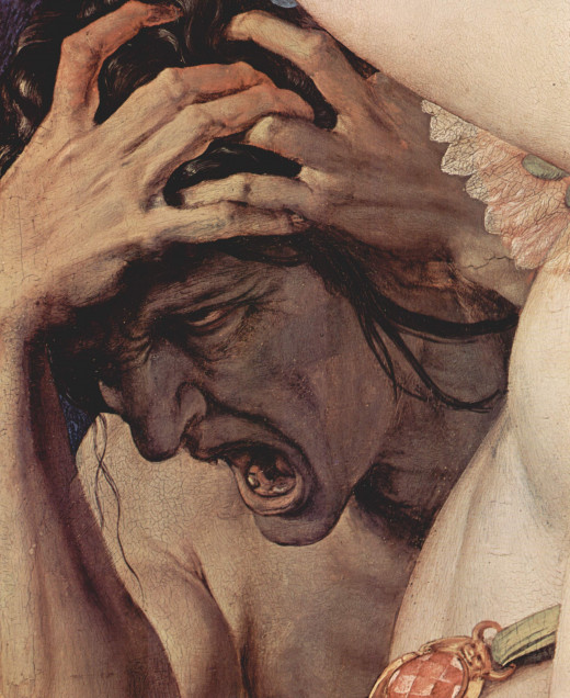 Ah, the joys of agony. This image was painted by Agnolo Bronzino around 1540-1545.