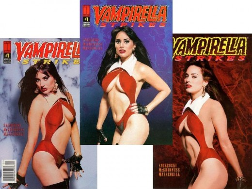 Vampirella Strikes #1 Variant Covers