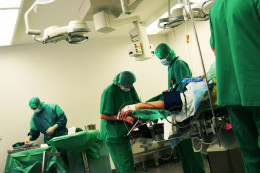 Surgical removal of a tumor is one method of treatment.
