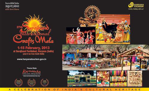 Surajkund Crafts Fair 2013 - Showcasing Cultural Heritage of India