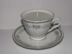 DIY Teacup Candle Tutorial