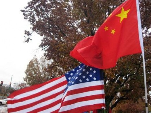 China on the way to rising above the US?
