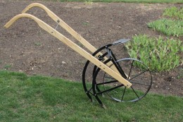 Amish Flip and Go Garden Cultivator/Plow