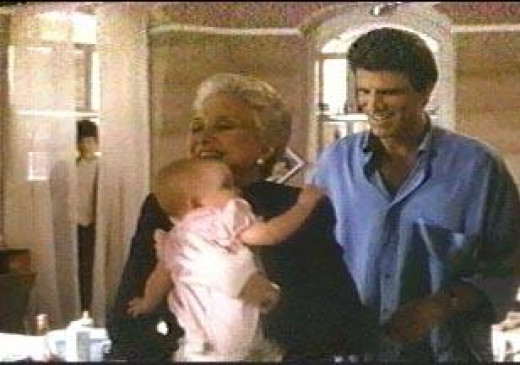 """The famous boy spirit from movie set of """"Three Men and a Baby"""", debunked as cardboard cutout."""