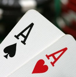 Pocket Aces is the best starting hand in Texas Hold'em