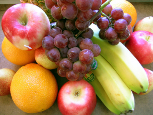 Eat plenty of fruits and vegetables.