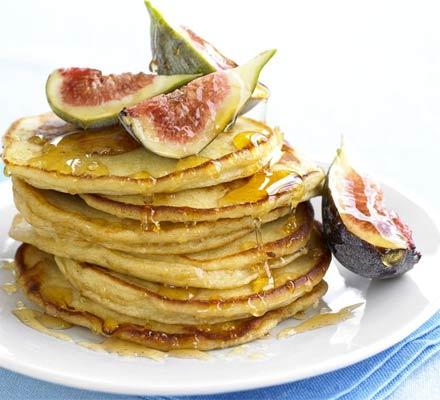 Sweet Ricotta Pancakes