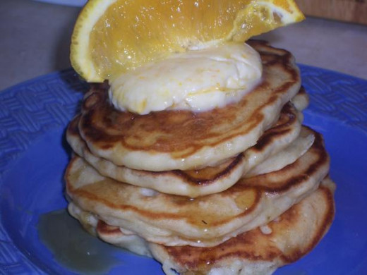 Banana and Macadamia Nut Pancakes