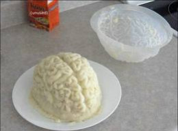 Brains are considered a delicacy in some cultures, even eated raw out of a live monkey....go figure.