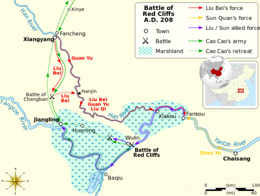 The battles that took place