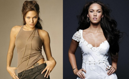 Angelina Jolie versus Megan Fox