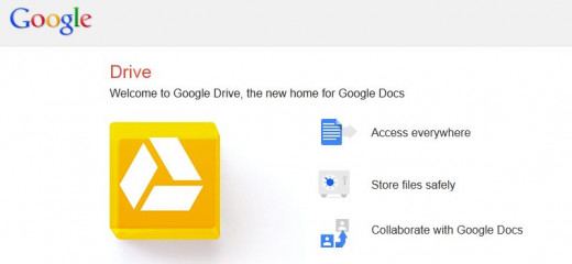 Google's Drive, you will get 5 gb without you knowing it...